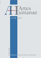 "Trzeci numer czasopisma naukowego ""Artes Humanae"""